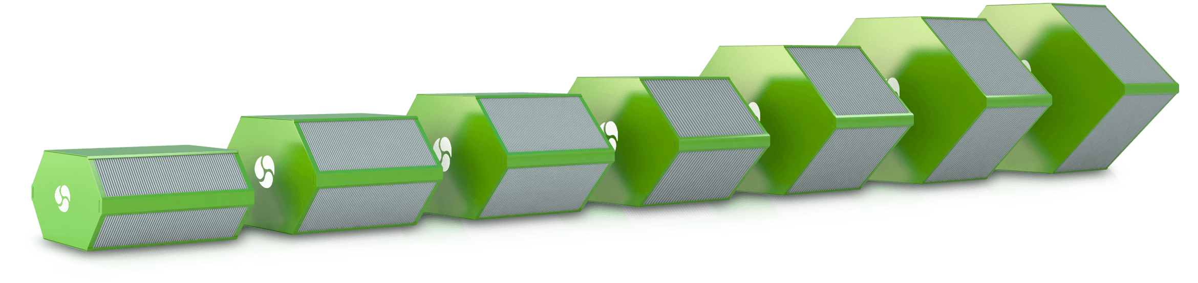 Counterflow heat exchanger – energy recovery with Eri Corporation S r l