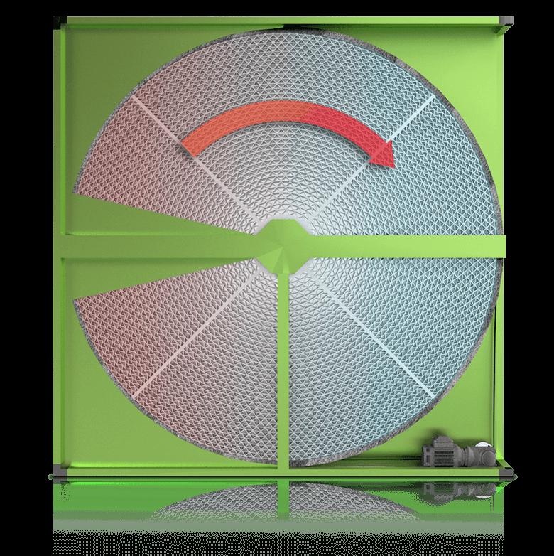 Rotary-heat-exchanger