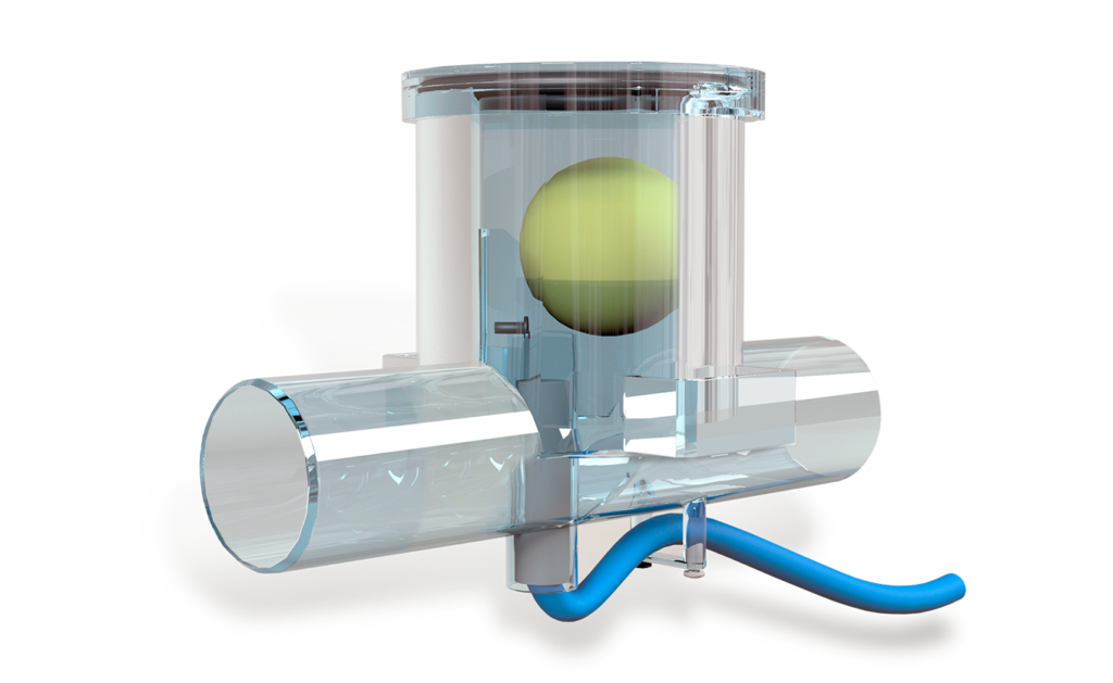 Ball siphon condensate drain – perfect solution for AHU