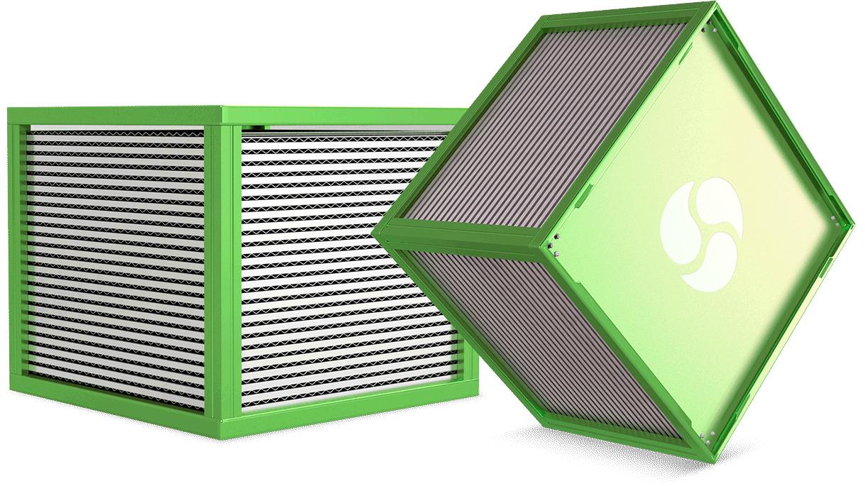 Aluminium-crossflow-heat-exchanger-ericorporation